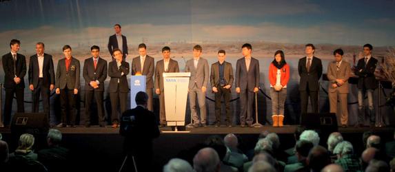 Tata chess, participantes
