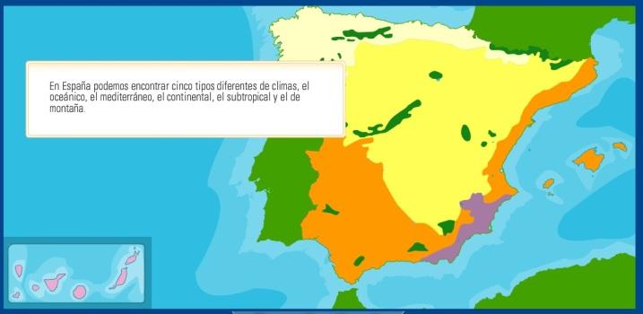 El clima de España