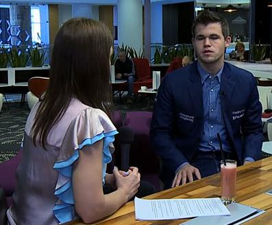 Entrevista a M. Carlsen