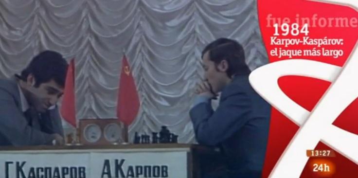 Karpov-Kasparov, el jaque más largo